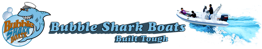Bubble Shark Boats Logo